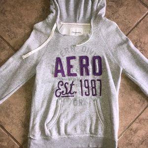 Sweaters - Aeropostale grey sweatshirt